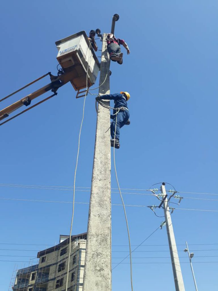برگزاری دوره رعایت ایمنی در شبکه های توزیع برق، ویژه پیمانکاران