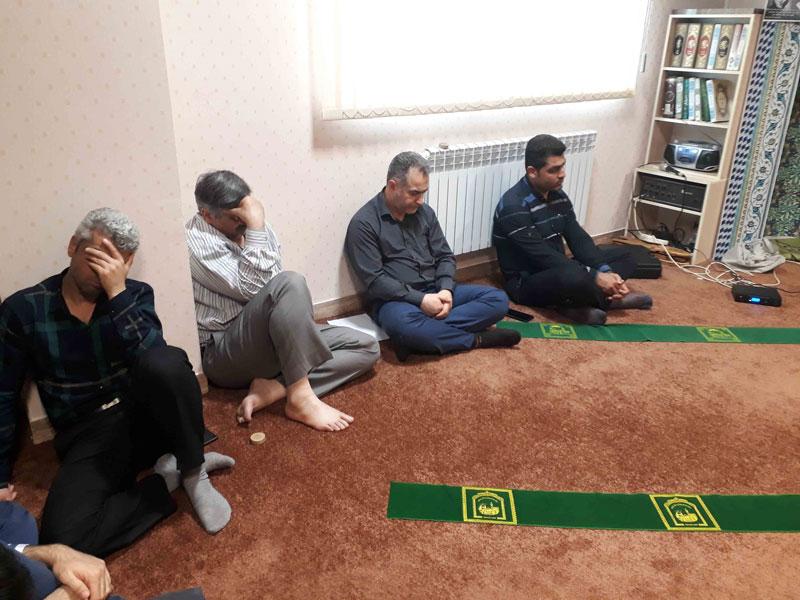مراسم شهادت حضرت امام علی (ع) در واحد آموزشی گیلان