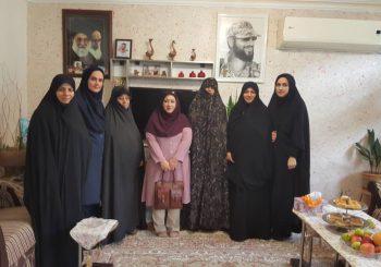 دیدار با خانواده شهید مدافع حرم سجاد طاهرنیا