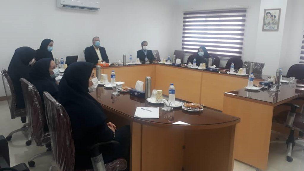 جلسه هم اندیشی آموزشی با شرکت های توزیع برق و آب منطقه ای گیلان